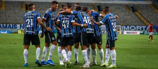 Grêmio quer jovens atuando mais cedo no profissional (Lucas Uebel/Grêmio)