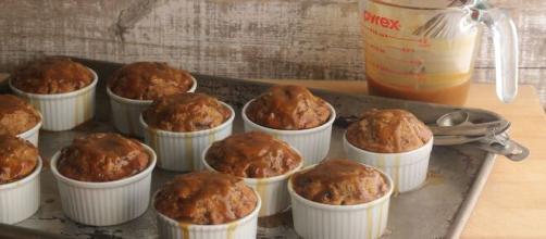 Piccoli soufflé al toffee, facili da preparare.