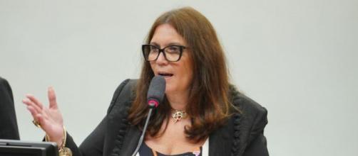 Bia Kicis é a nova presidente da CCJ. (Arquivo Blasting News)