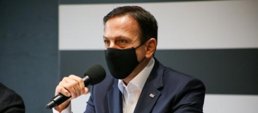 Doria anuncia que deve endurecer restrições devido à pandemia (Divulgação/Governo do Estado de São Paulo)