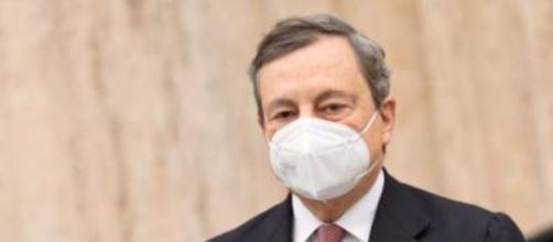 Il presidente del Consiglio Mario Draghi (Foto governo.it)