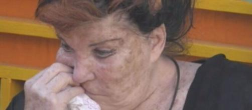 Avanti un altro, Patrizia De Blanck perde un dente nello show di Paolo Bonolis.