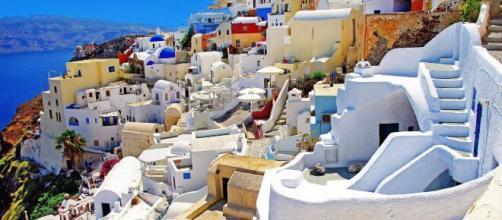 Santorini: uno dei 'paradisi' della Grecia.