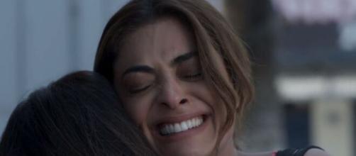 Bibi e Aurora no final de 'A Força do Querer' (Reprodução/TV Globo)