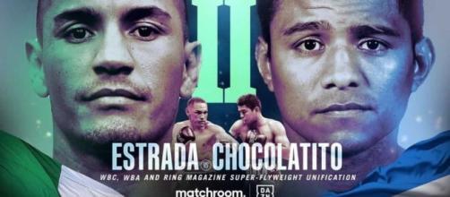 Estrada vs Chocolatito 2, domenica 14 marzo in diretta su DAZN.