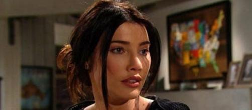 Beautiful, trame USA: Liam non è il padre del figlio di Steffy, lei vuole partire.