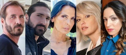 Un posto al sole, i possibili sospettati dei sabotaggi ai Cantieri, Alberto, Nicola, Marina, Lara e Luciana.