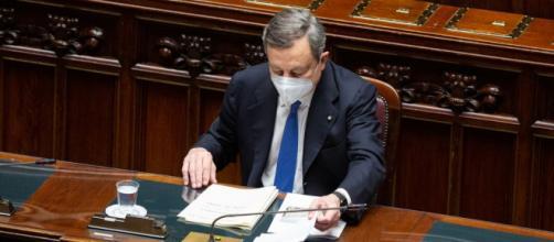 Il presidente del Consiglio Mario Draghi (Immagine messa a disposizione con licenza CC-BY-NC-SA)