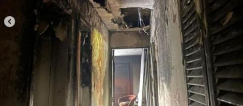 Mansão de Paolla Oliveira pega fogo (Reprodução/Instagram/@paollaoliveirareal)