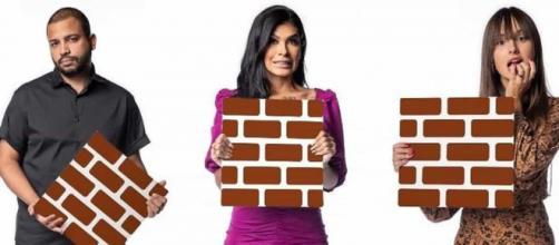 'BBB21': Projota, Pocah e Thaís estão no paredão (Reprodução/Gshow)