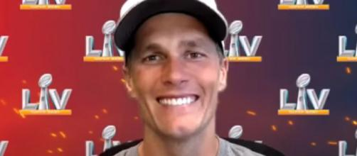 Brady is contended with the team's latest moves (Image source: Tampa Bay Buccaneers/YouTube)