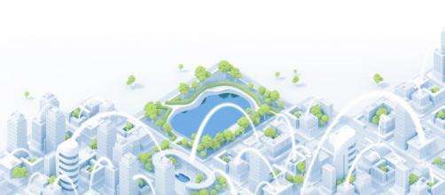 Cette startup propose une architecture réseau des bâtiments et des villes connectés - Source : LinkedIn @Panga