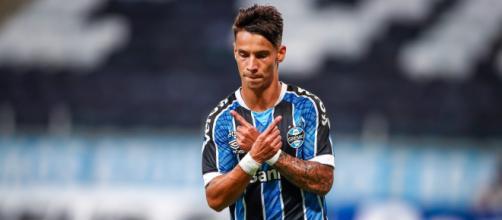 Grêmio será liderado por Ferreirinha, em Quito (Lucas Uebel/Grêmio)