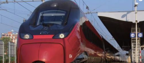 Italian high-speed train inspired by Italian Sports Car Heritage (Image source: QuestTV/YouTube)