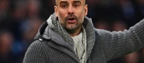 Joseph Guardiola, tecnico del Manchester City.