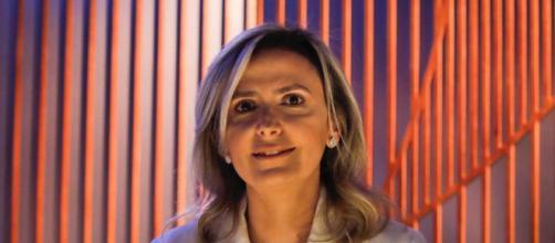 Ludhmila Abrahão Hajjar participou de reunião com Jair Bolsonaro (Reprodução/SBT)