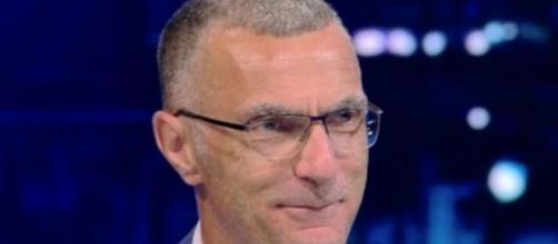 Beppe Bergomi, commentatore televisivo a Sky Sport.