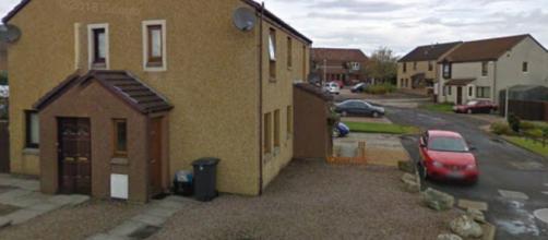 Casa onde policiais encontraram o corpo de idosa em Aberdeen, na Escócia (Reprodução/Google Maps)