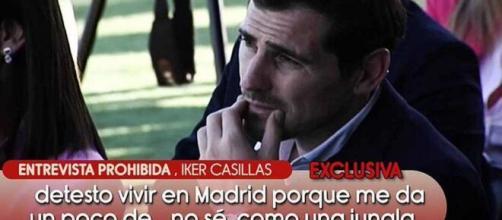 Casillas dio un entrevista a Gustavo González en Oporto (@salvameoficial)