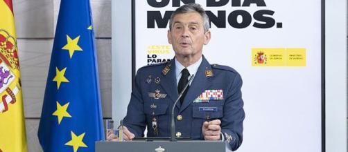 El general Villarroya, Jefe del Estado Mayor de la Defensa hasta enero, cuando se vio obligado a dimitir. (Wikipedia Creative Commons)
