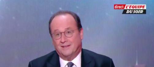 François Hollande revient sur la remontada et tacle Macron - Photo capture d'écran vidéo L'équipe du soir