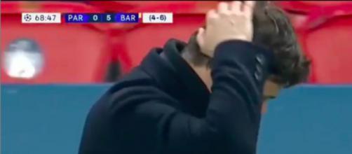 Il reproduit le scenario remontada contre le FC Barcelone - photo capture d'écran vidéo instagram @zekiel79ok2