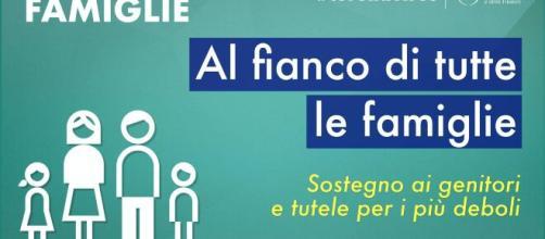 Le misure del Governo a sostegno delle famiglie italiane.