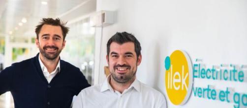 Rémy Companyo, CMO (à gauche) et Julien Chardon CEO (à droite) sont les deux cofondateurs d'ilek - Source : DR