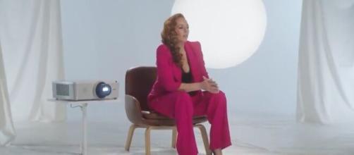 Rocío Carrasco en la filmación de 'Contar la verdad para seguir viva' (captura vídeo)