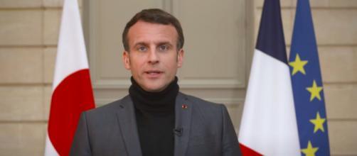 Emmanuel Macron prépare déjà l'après Covid - Photo capture d'écran vidéo Youtube Chaine Emmanuel Macron
