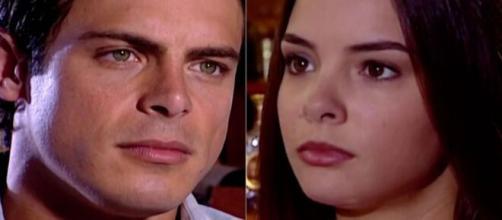 Fred e Clara em 'Laços de Família' (Reprodução/TV Globo)