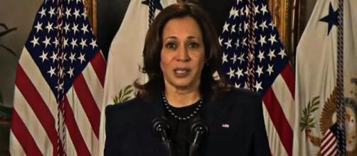 Kamala Harris said democracy has been in a global decline for the past 15 years (Image source: U.S. Department of State/YouTube)