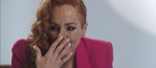 Las lágrimas de Rocío Carrasco, en el documental de Mediaset. (Captura Promo)