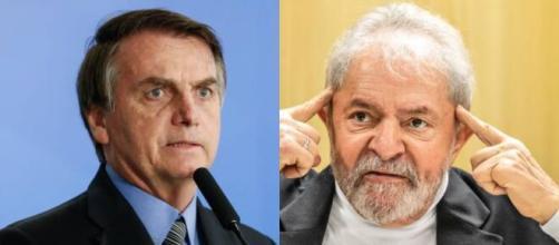 Jair Bolsonaro vê seus opositores crescerem nas pesquisas (Fotomontagem/Arquivo Blasting News)