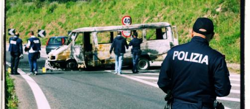 La banda era specializzata negli assallti ai furgoni portavalori.