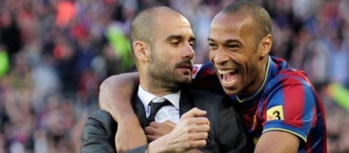 L'anecdote d'Henry sur le coaching de Guardiola - Photo capture d'écran Twitter https://twitter.com/actus_foots/status/695676259020443648/photo/1