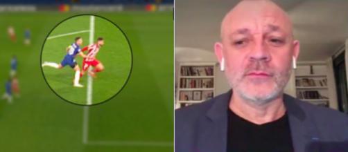 Le coup de gueule de Fred Hermel contre l'arbitrage - Photo capture d'écran video RMC et Canal+