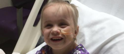 Tanto la niña como su maestra se han recuperado de la operación. (Fuente: Twitter @ABC)