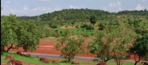 View of the Great Green Wall of Africa (Image source: UK Official/YouTube)