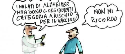 Vignetta di Tiziano Riverso, gentile omaggio di Elena Fortunato