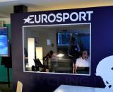 Il passaggio di Aiello dagli studi di Eurosport alla nettezza urbana.