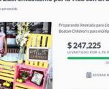 Liza seguirá vendiendo limonada para ayudar a niños con problemas