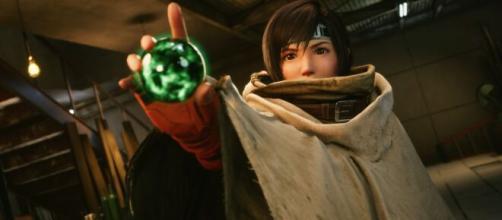 Yuffie nel DLC di Final Fantasy VII Remake Intergrade.
