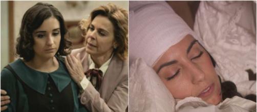 Il segreto, trame Spagna: Rosa e Begona vogliono soffocare Manuela con un cuscino.