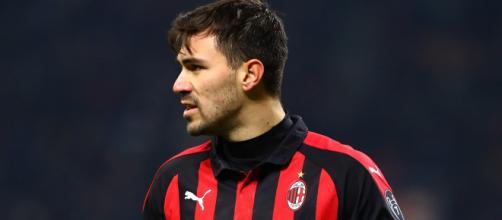 in foto Romagnoli, capitano del Milan.