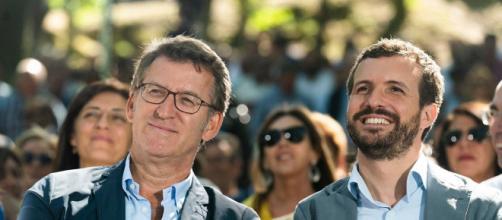 Pablo Casado ha elogiado al PP como una formación que genera empleos cada vez que gobierna España (Twitter @populares)