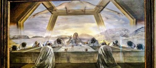 """The Sacrament of the Last Supper"" painted by Salvador Dali (Imagem source: Flickr/Leo Boudreau)"