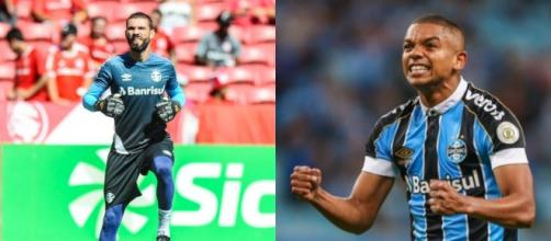 Vanderlei e David Braz devem deixar o Grêmio na próxima temporada. (Fotomontagem)