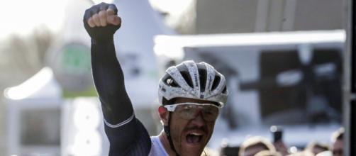 Jasper Stuyven beats Yves Lampaert in two-up sprint to win Omloop ... - telegraph.co.uk