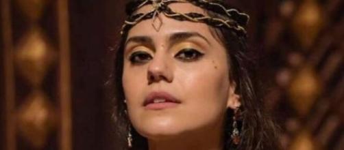 Shakia em 'Gênesis' (Reprodução/Record TV)